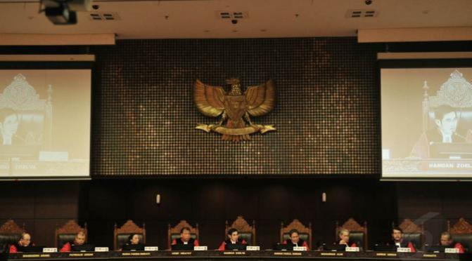 MK Gelar Sidang Lanjutan Sengketa Pilpres 2014